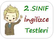 2.sınıf ingilizce testleri
