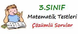 3.Sınıf matematik-testleri