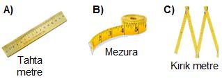 uzunluk ölçüleri 2.sınıf soruları
