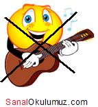 gitar çalamam