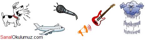 doğal ve yapay ses kaynakları