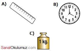zamanı ölçme soru 1