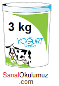 yoğurt 3 kg
