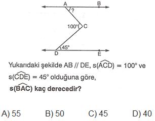 açılar soru 12