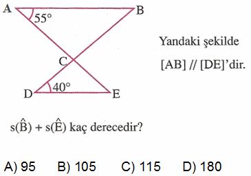 açılar soru 2