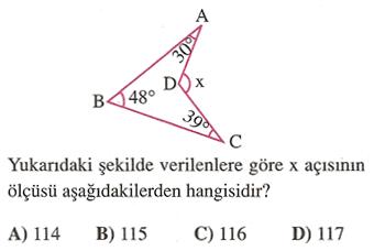 açılar soru 5