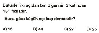 açılar soru 7