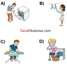8.sınıf ingilizce 8.ünite test soru 7