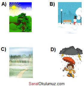 6.sınıf ingilizce 8.ünite test soru 9