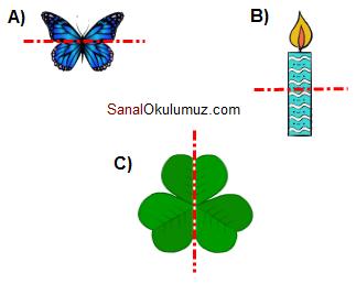 simetrik şekiller
