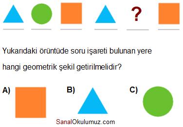 örüntüler soru 2
