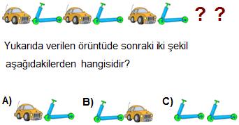 örüntü 1.sınıf soru 4